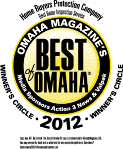 Best of Omaha Home Inspection Winner 2012