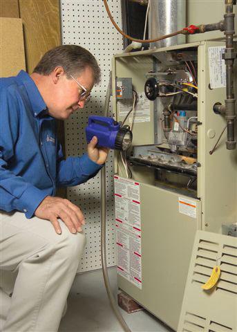 Pat Casey inspecting